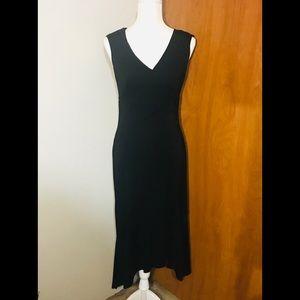 I.N. San Francisco black ankle length dress